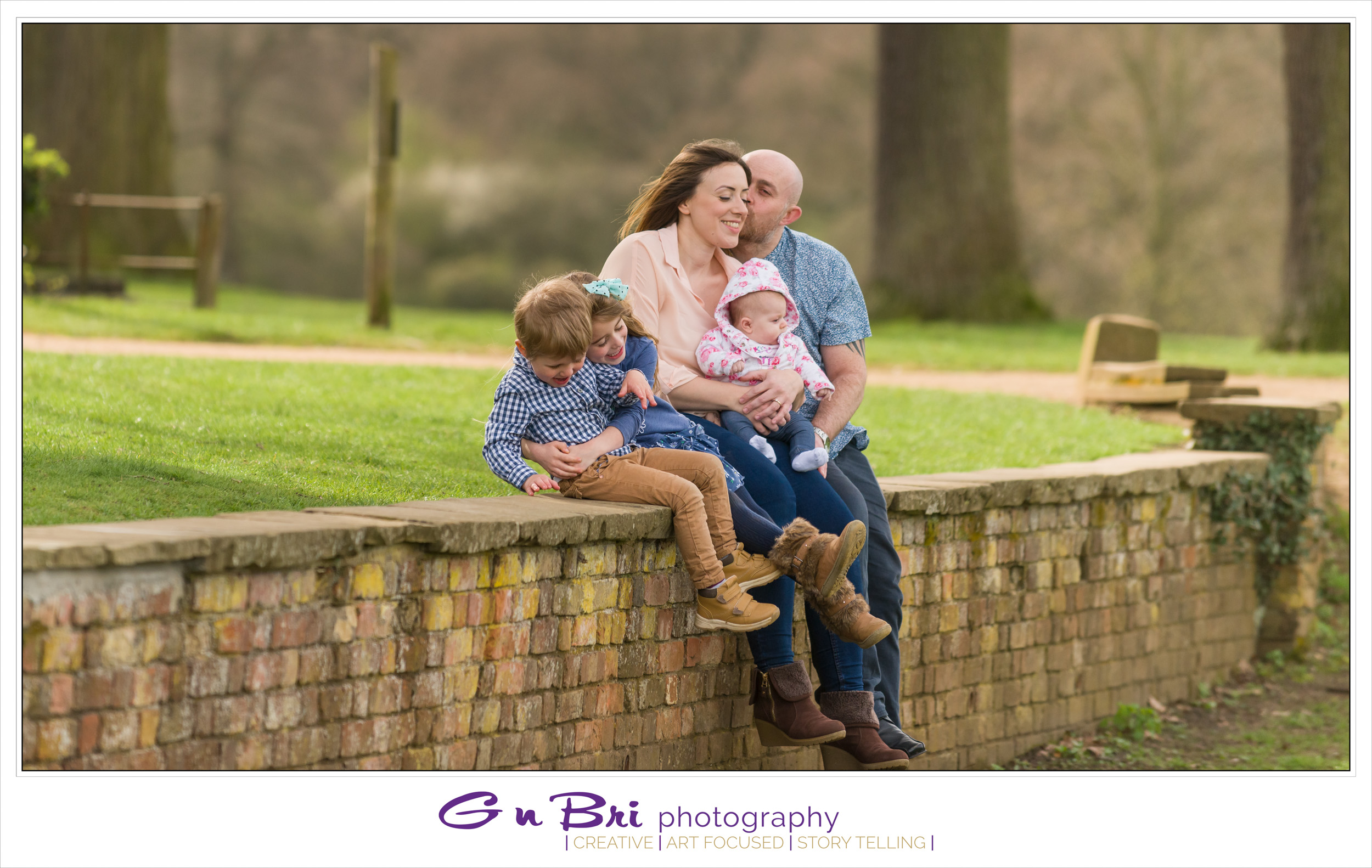 Family Photography at Hylands House