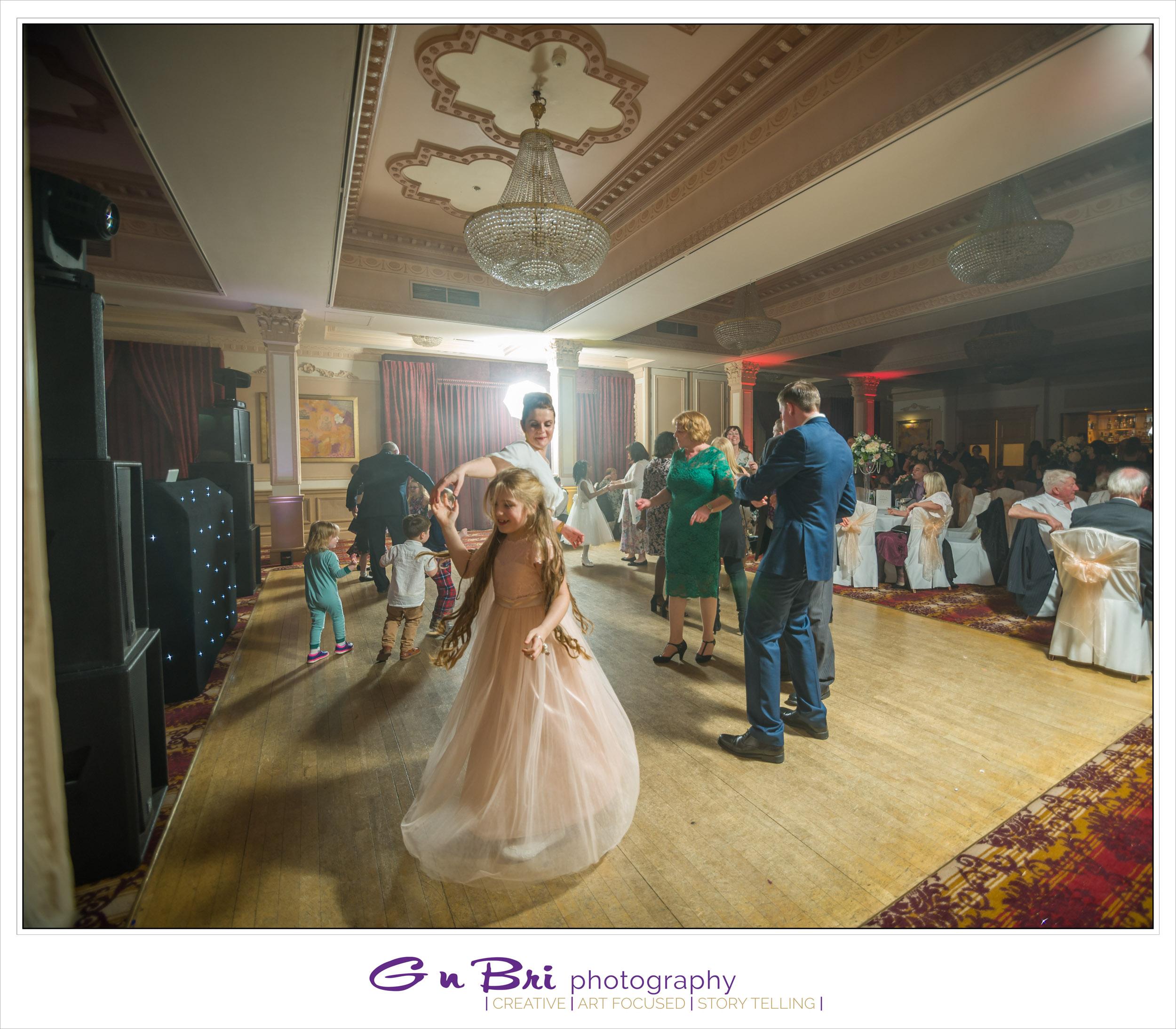 The Down Hall Dance floor.