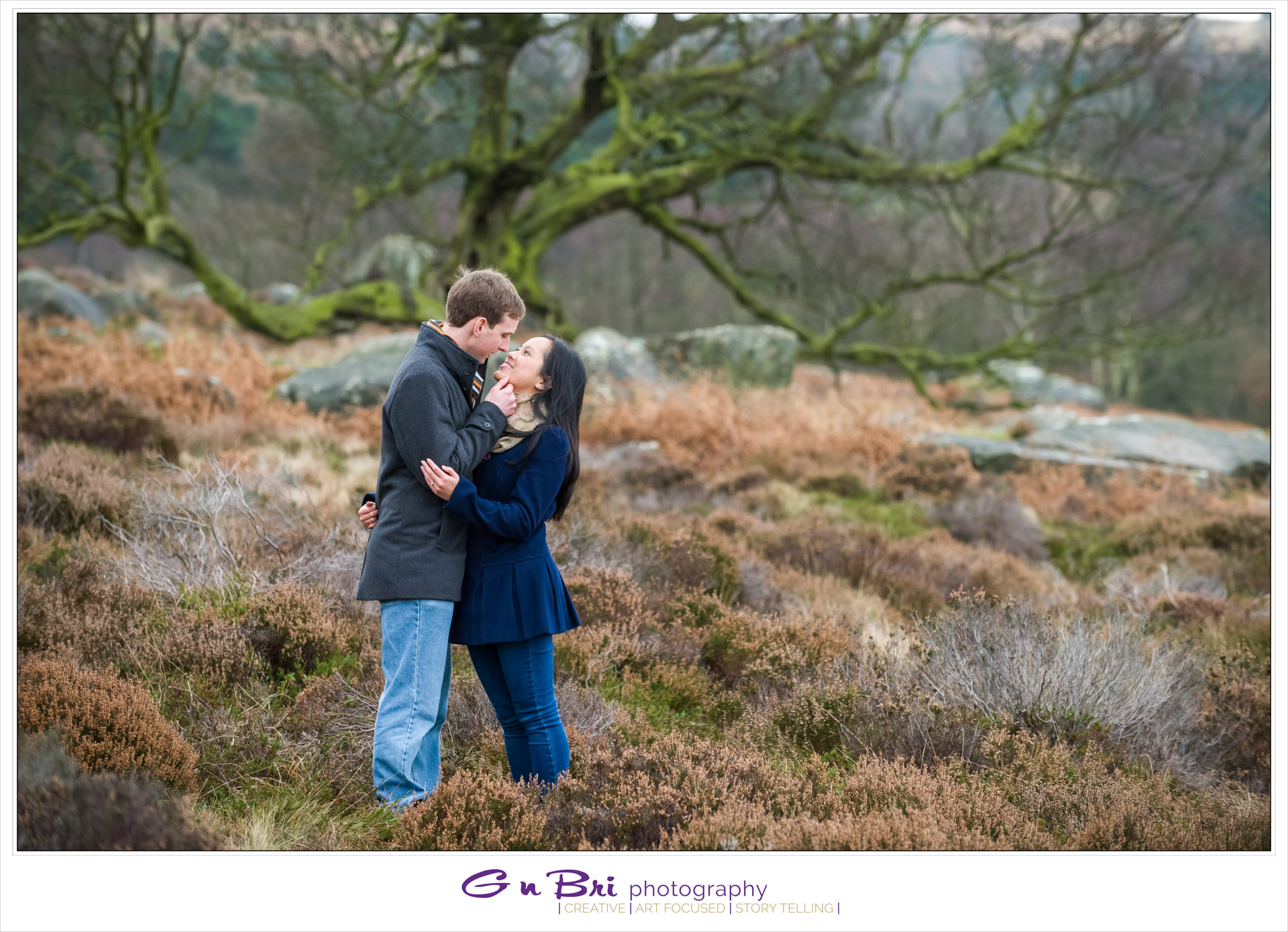 Peak District Pre-wedding Session | Christabella & Andy | Sneak Peek
