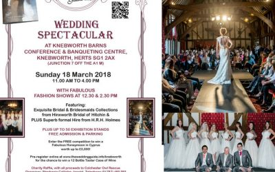 Hertfordshire Wedding Fair | Knebworth Barns | 18th March