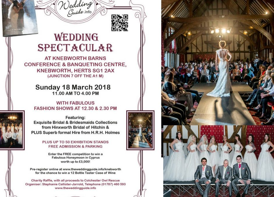 Hertfordshire Wedding Fair | Knebworth Barns | 18th March