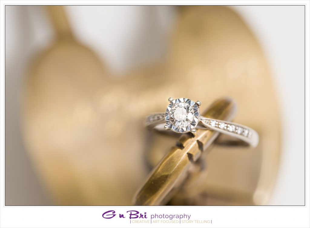 Creative Wedding Rings Photography