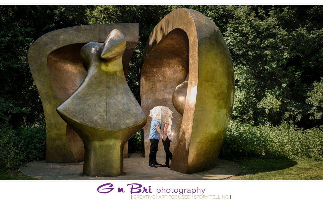 Hertfordshire Henry Moore Pre-wedding | Stu & Sam | Sneak Peek
