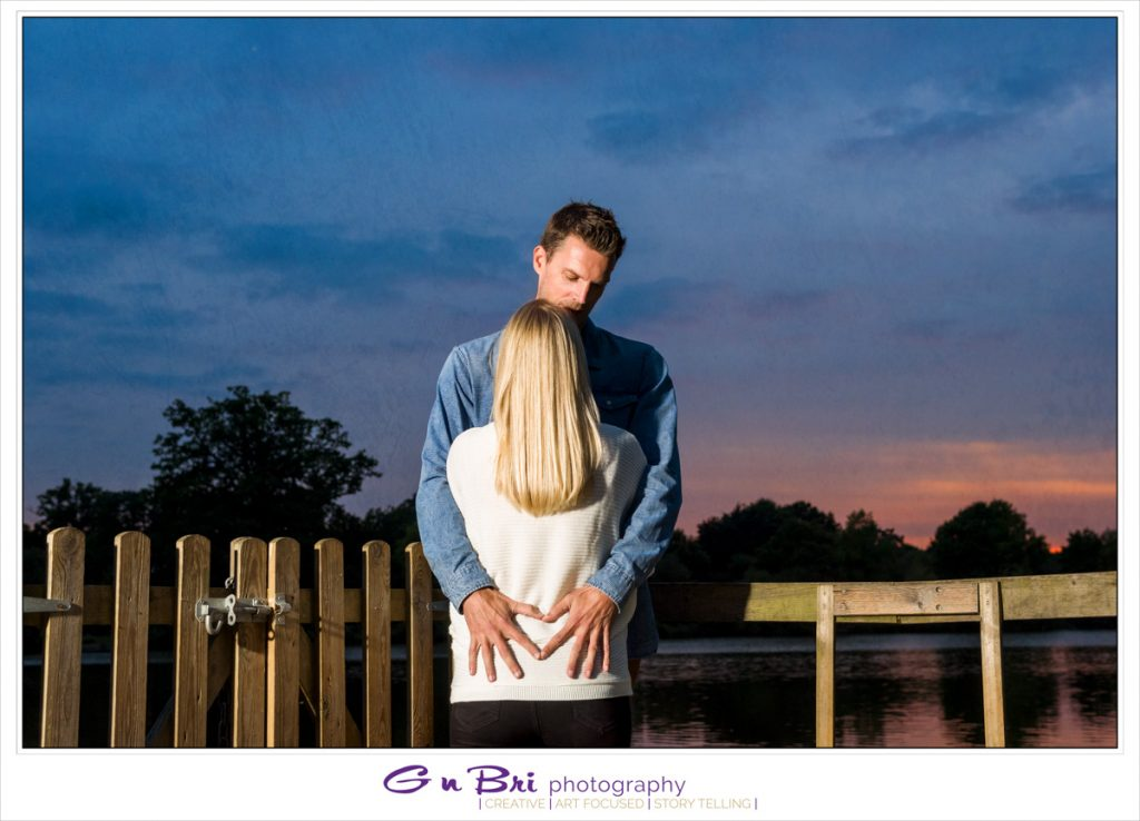 Sunset on a Pre-Wedding Session