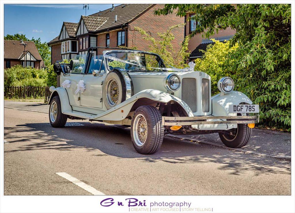Heath & Tom's Wedding Car