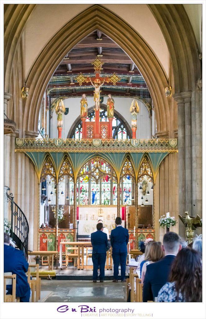 Bedford Church Wedding