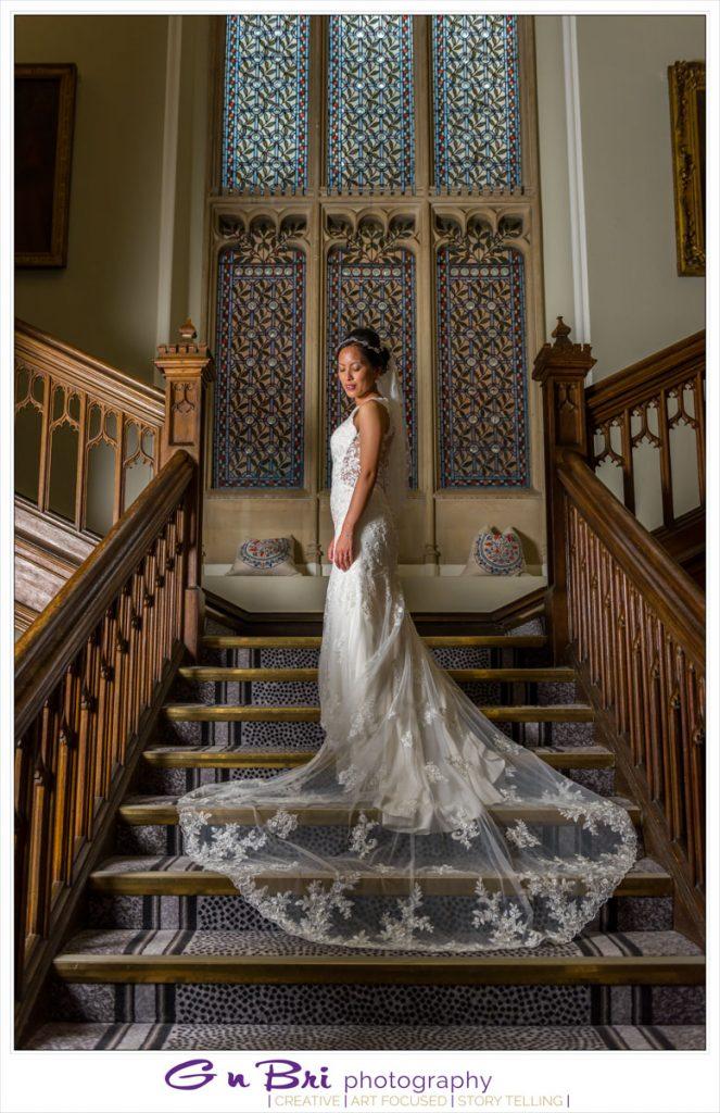 The Bride at Latimer Estate