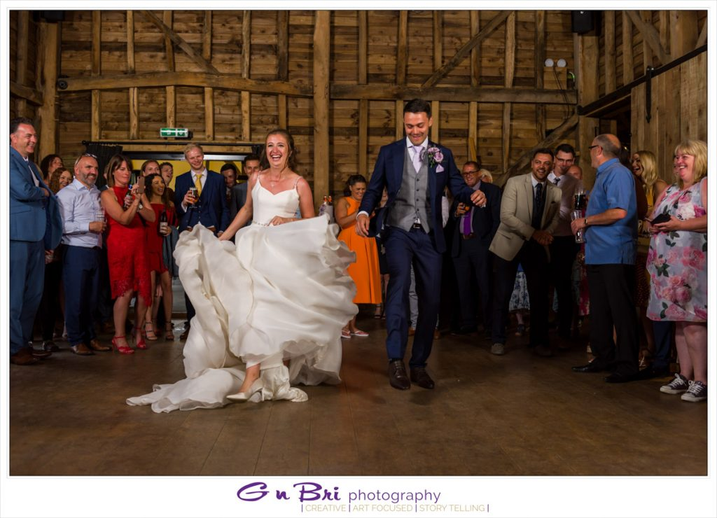 A Brilliant, Choreographed First Dance