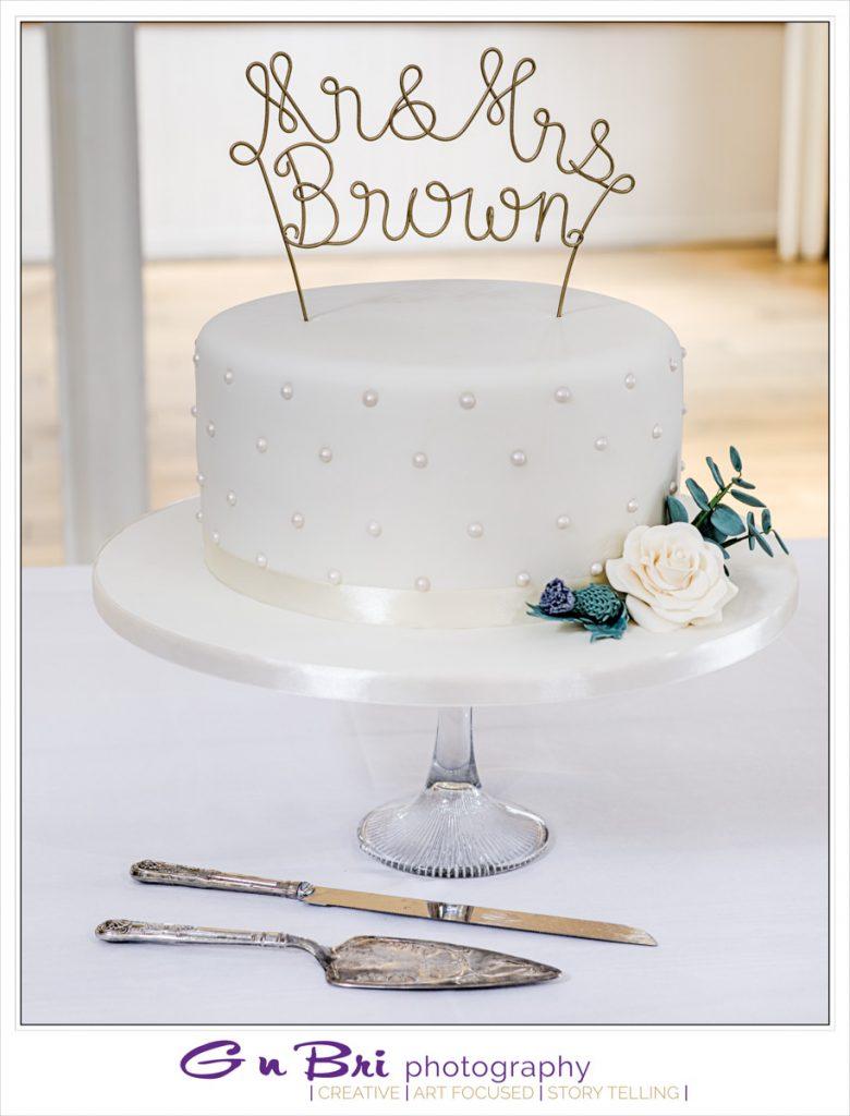 A Stunning Wedding Cake